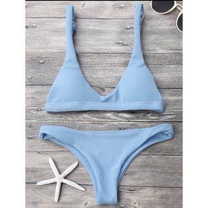ZAFUL Blue Bikini NWT Size Medium